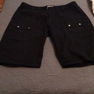 Michael Kors black shorts
